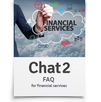 FAQ's for financial services companies